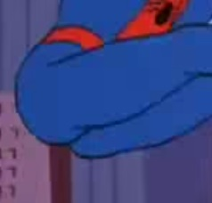 10. Spiderman Butt