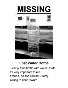 Lost Bottle Ad