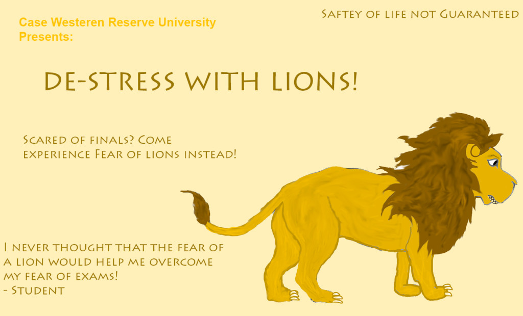 Adithi Iyengar, Destress with lions ad